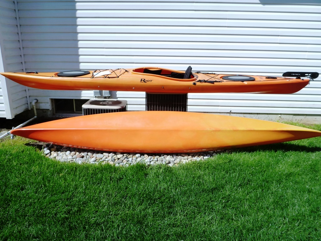 Riot Kayak Edge Sea Kayak 14.5 Rudder For Sale